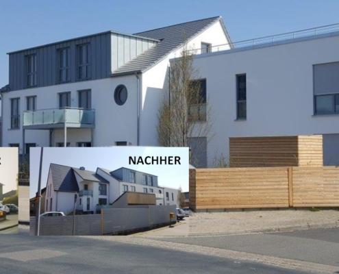 Projekt der Waldmann GmbH _ vorher nachher