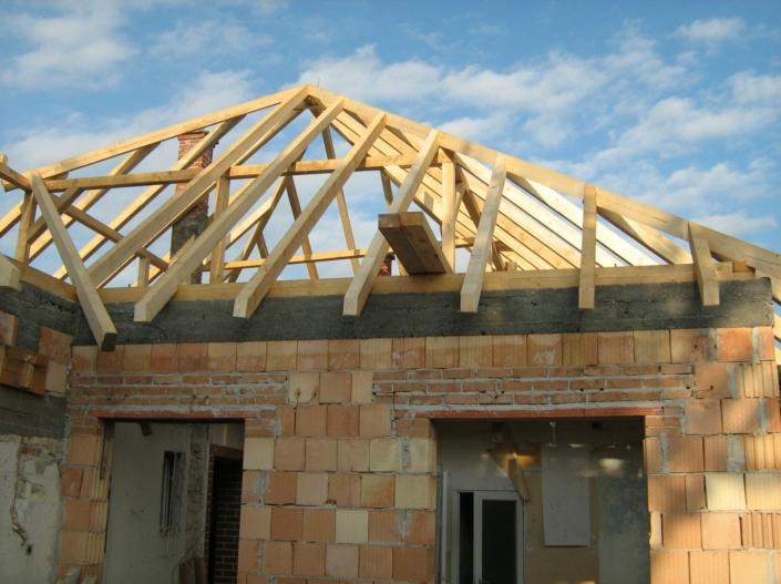 Dachstuhl Neubau Zimmerarbeiten